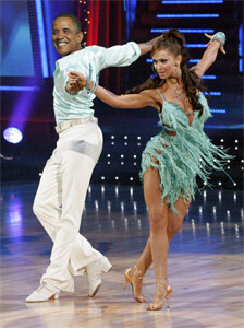 Dancing With the Stars Obama