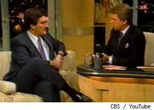 Keith Olbermann on 'The Pat Sajak Show' in 1989