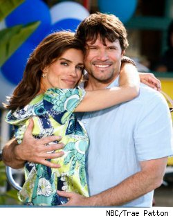 Kristian Alfonso and Peter Reckell