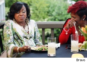 Phaedra and Kandi from 'The Real Housewives of Atlanta.'