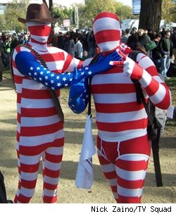 Reddit.com users at the Rally to Restore Sanity and/or Fear