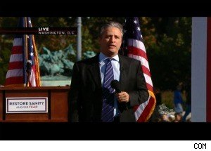 The Best Moments From Jon Stewart's 'Rally to Restore Sanity'
