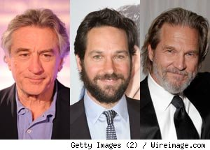 Robert De Niro, Paul Rudd and Jeff Bridges