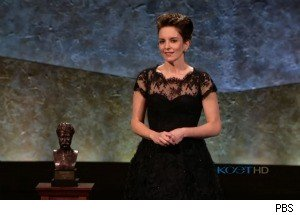 Tina Fey Wins Prize for American Humor -- Thanks Her Parents, Sarah Palin