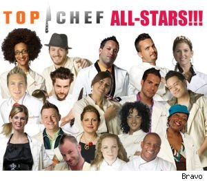 A new season of 'Top Chef All-Stars' premieres tonight at 10PM on Bravo.