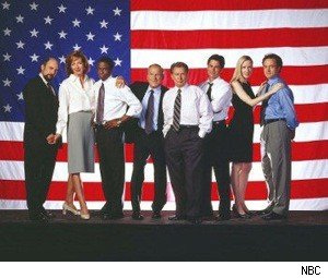 west_wing_nbc_cast_flag