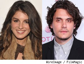 Shenae Grimes and John Mayer