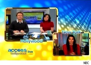 Angie Harmon discusses David Hasselhoff on 'Access Hollywood Live'