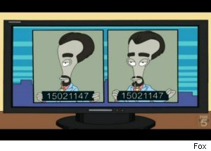 Roger Is The Fugitive on 'American Dad'