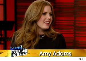 Amy Adams on 'Live with Regis and Kelly' talking about 'The Fighter'