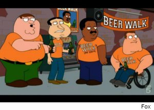 'Family Guy' Visits 'Cleveland Show'