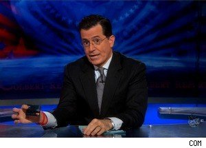 Stephen Colbert Threatens to Reveal Goldman Sachs Credit Card Info, Gets in Trouble With Their Lawyers