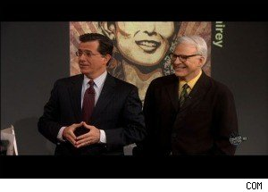 Steve Martin and Shepard Fairey Agree: Stephen Colbert Needs to Change His Picture