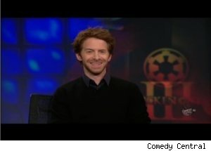 Seth Green Talks 'Robot Chicken' on 'Daily Show'