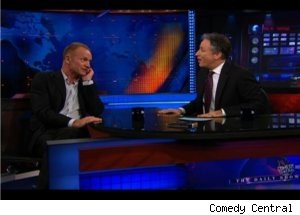 Sting Talks with Fan Jon Stewart on 'Daily'