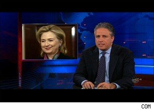 'The Daily Show': Is Hillary Clinton Embarrassed by the Latest WikiLeaks?