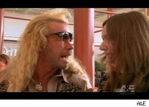 Dog Counsels Woman on 'Bounty Hunter'