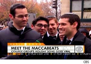 The Maccabeats sing 