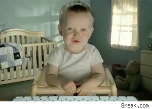 E Trade Baby Commercial