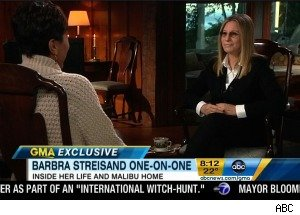 Barbra Streisand Would Rather Direct Movies Than Work on Her House