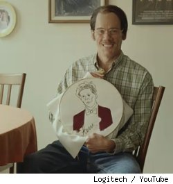 Kevin Bacon plays Kevin Bacon's biggest fan in a new Logitech ad