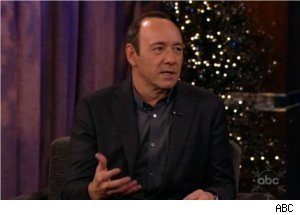 Kevin Spacey Imitates Morgan Freeman on 'Kimmel'