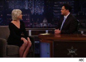 Jimmy Kimmel Confesses to Watching Helen Mirren Naked