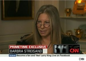 Barbra Streisand Talks on 'Larry King Live' Primetime Special
