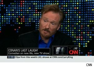 Conan O'Brien on Jay Leno: 'There's Nothing For Us to Talk About' 