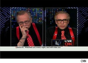 On His Final Show, Larry King Says Goodbye to ... Larry King