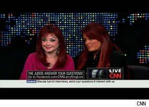 Wynonna Judd on 'Larry King Live': 'I Almost Died Twice This Year'