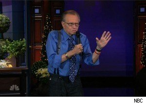 Larry King Does Stand-Up Comedy on 'The Tonight Show'