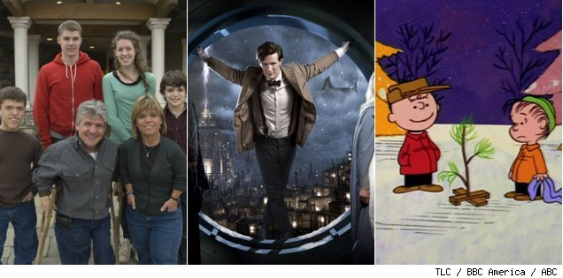 'Little People Big World' / 'Doctor Who' / 'A Charlie Brown Christmas'