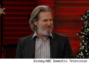 Jeff Bridges, 'Live with Regis and Kelly'