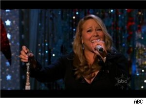 Mariah Carey Performs on 'Merry Christmas to You'