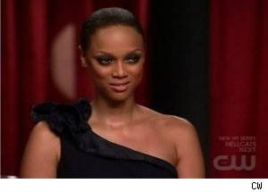 Tyra Banks Announces Winner of 'America's Next Top Model'