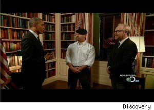 Barack Obama Guest-Stars on 'MythBusters,' Wants to Learn About a Solar Death Ray