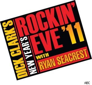 ABC presents the annual 'Dick Clark's New Year's Rockin' Eve With Ryan Seacrest' starting at 11:30.