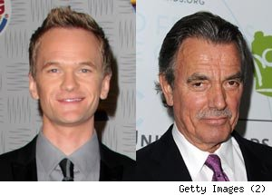 Neil Patrick Harris and Eric Braeden