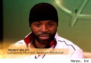 Teddy Riley talks about the new Michael Jackson album on 'The Oprah Winfrey Show'