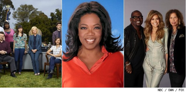 'Parks &amp; Recreation' / Oprah Winfrey ' /American Idol'