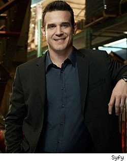 Pete Lattimer of Warehouse 13