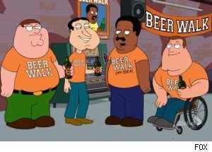 'The Cleveland Show' - 'Beer Walk!'
