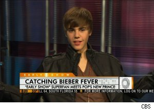 Justin Bieber, 'The Early Show'
