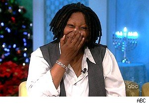 Whoopi Goldberg cries with laughter on 'The View' with Billy Crystal