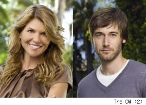 Lori Loughlin, Ryan Eggold, 90210
