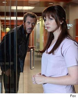 Hugh Laurie and Amber Tamblyn in 'House'