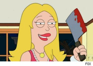 Francine Gets Violent on 'American Dad'