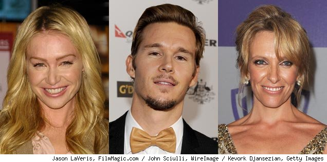 Portia De Rossi, Ryan Kwanten, Toni Collette
