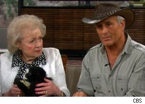 Betty White, Jack Hanna, The Talk